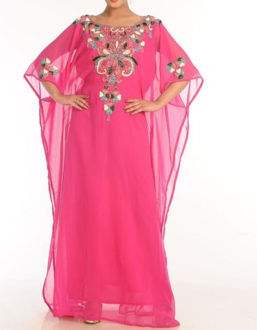 African Attire Kaftan Party Wear Evening Dresses For Women Beaded Dress Dubai