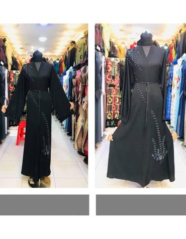 African Attire Long Sleeve Party Wear Designer Abaya Dresses For Women