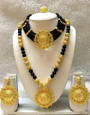 Elegant & Trendy Unique Design Necklace With Earrings African Jewellery For Women