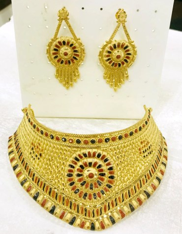 Unique Designer And Fashionable Trendy Necklace African Jewelry For Women