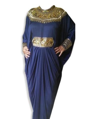 Trendy African Attire Moroccan Stunning Premium Work Women Abaya Lycra Kaftan