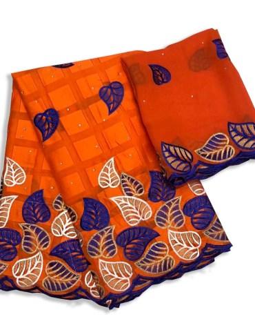 Classic Collection Swiss Voile Designer Cotton Piece Dubai Embroidery Dress Material