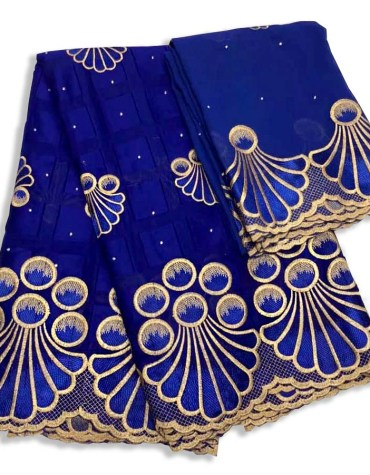 Latest Party Collection Swiss Voile Designer Cotton Piece Embroidery Dress Material