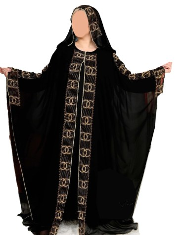 New Arrived Fancy and Premium Quality African Trendy Formal Party Wear Abaya for Women