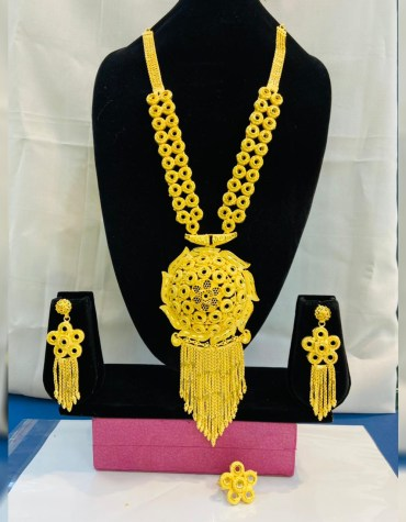 New Elegant Necklace For Party or Formal Wear African Jewellery Set For Women