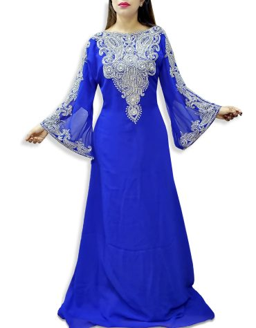 New African Kaftan Dress for party & Wedding Moroccon Dubai Kaftan For Women