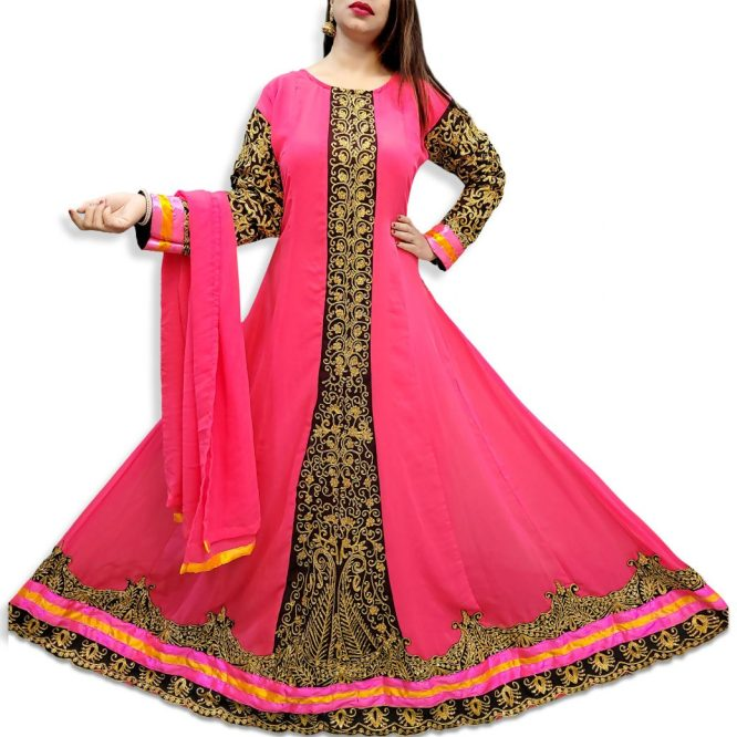 African Party Wear and Exclusive Wedding Designer Embroidered Gown For Women
