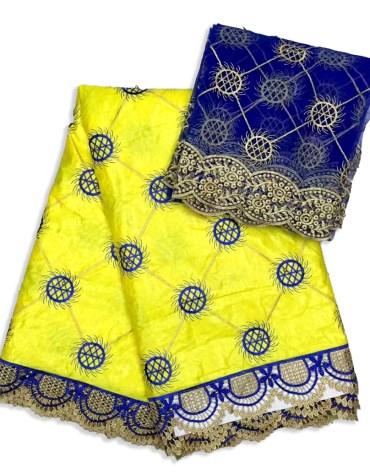 Premium Quality Elegant Beaded Embroidery Work Satin Slik Dress Material For Women