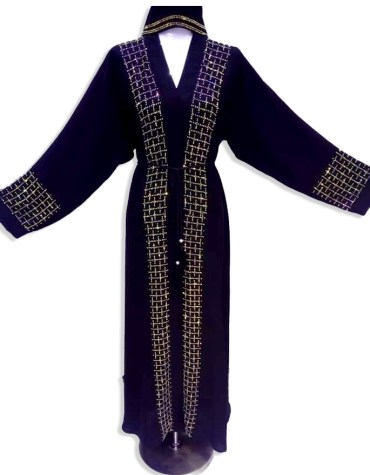 Latest Collection Fancy And Premium Quality African Party Wear Abaya For Women