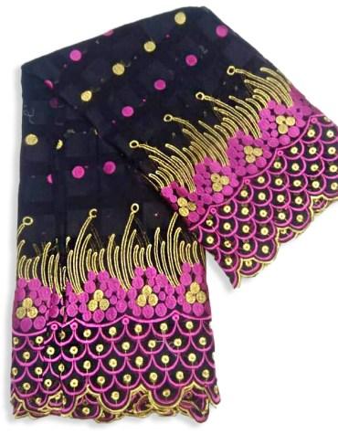 Super Fancy Swiss Voile Designer Cotton Piece Dubai Premium Embroidery Dress Material