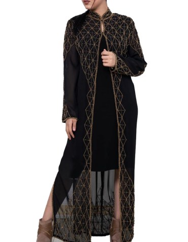 African Party Wear Light Weight Trendy and Fashionable Designer Long Shrug