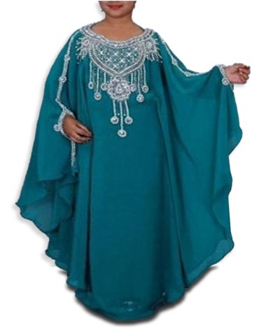 Adorable Eid-Collection African Attire Best Fancy Party wear dubai kaftan for kids
