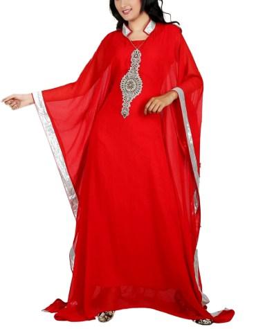 New Exclusive Collection Floral Party Design Fashion Dubai Kaftan Dress For Women