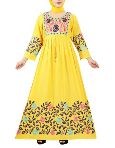 Formal Party Wear Multycolor Fancy Embroidered Rayon Women Long Stitched Elegant Gown