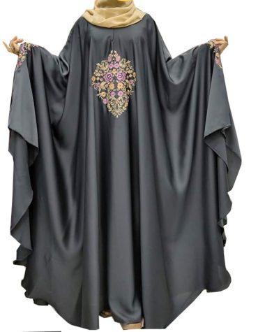 Fashion Attire Party Wear Collection Satin Sik Farasa Dubai Dress For Women