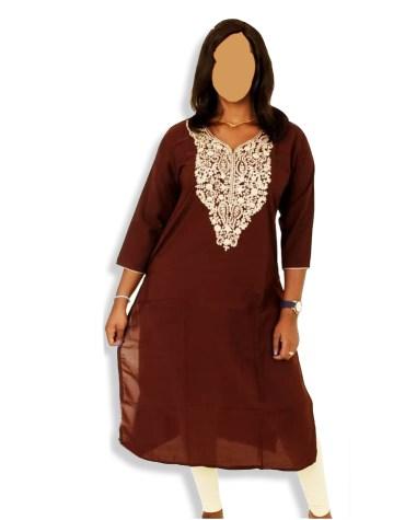 Trendy Summer Style Daily Wear Stylish Embroided beautiful Tunic Kurti For Women