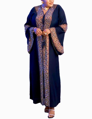 Luxury Collection Fancy and Premium Quality Beaded Work Party Wear Designer Abaya