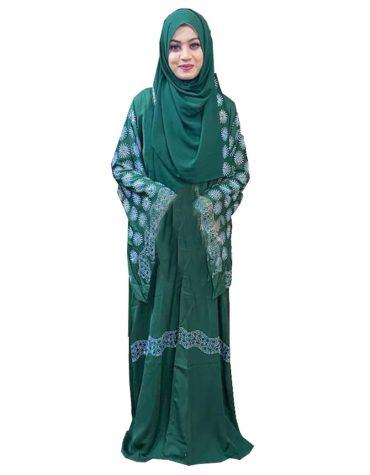 Ladies Chiffon Kaftan Designer Premium Hand Work Dress For Women