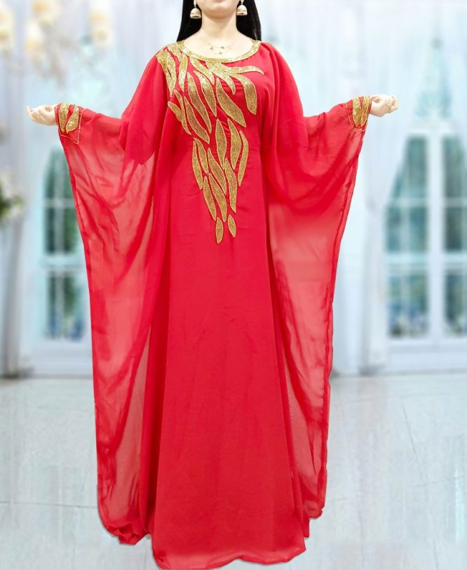 Popular Party Wear Light Designer Chiffon Kaftan For Women