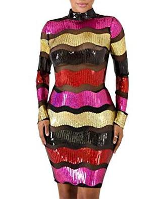 New African Attire Evening Party Wear Net Tunic 1 Piece Dress