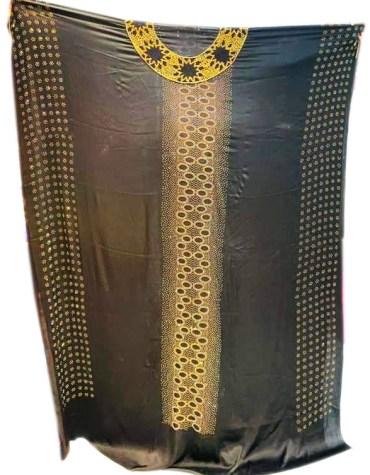 RhineStone Beaded Wedding Satin Silk Dress Material For Women