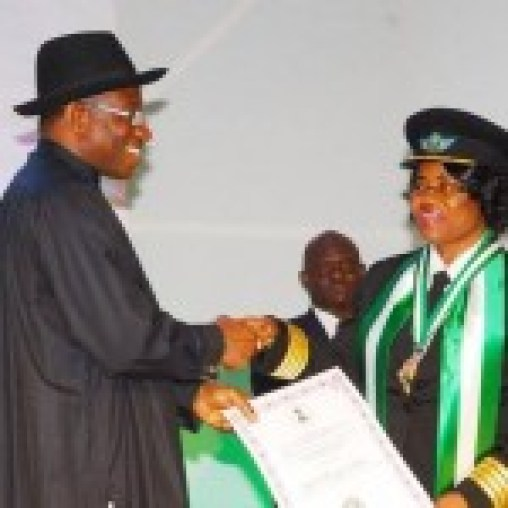 Centenary Award for First female pilot, Captain Chinyere Kalu.