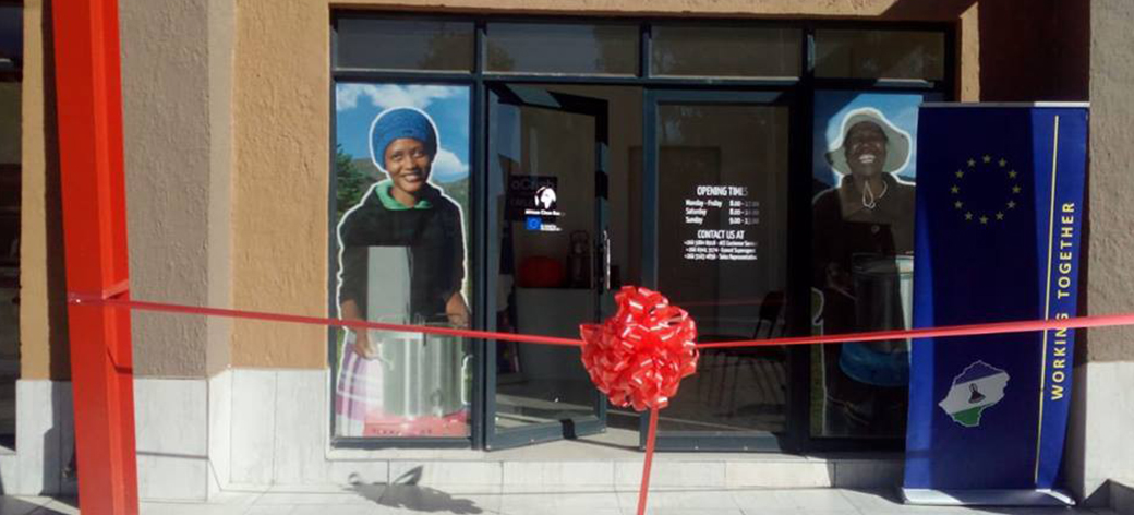 Opening of ACE's first Energy Shop in Butha-Buthe, Lesotho