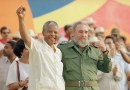 21 Photos: Communist Fidel Castro with South African Jewish communist Ronnie Kasrils & Communist Nelson Mandela