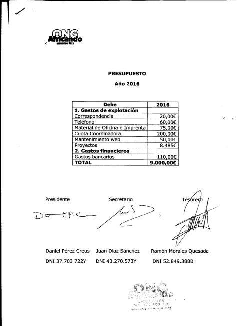 Presupuesto 2016 Debe 001