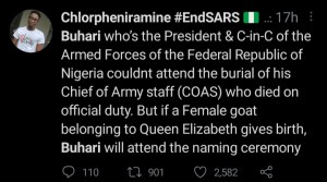 Nigerians Bash Buhari For Not Attending Top Army Commander's Funeral 4