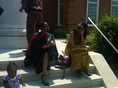 Zarina Asha and I @ my Masters Degree Ceremony in Virginia Beach