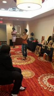 Women's Empowerment Seminar: Speaking about my art and what inspires me...