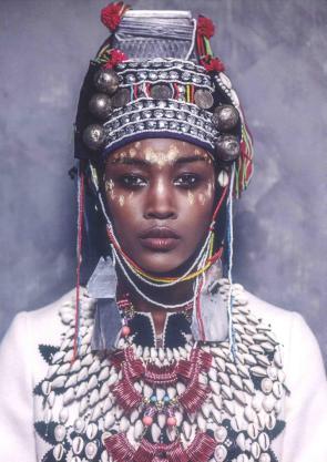 Afrikan Gypsy Woman