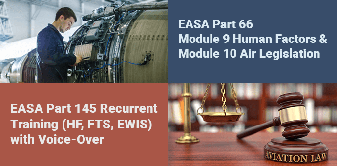 Aviation law EASA Part 145 Recurrent Training