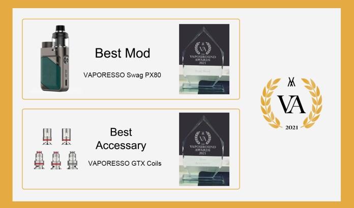 VAPORESSO Awards Best Mod - Best Accessary