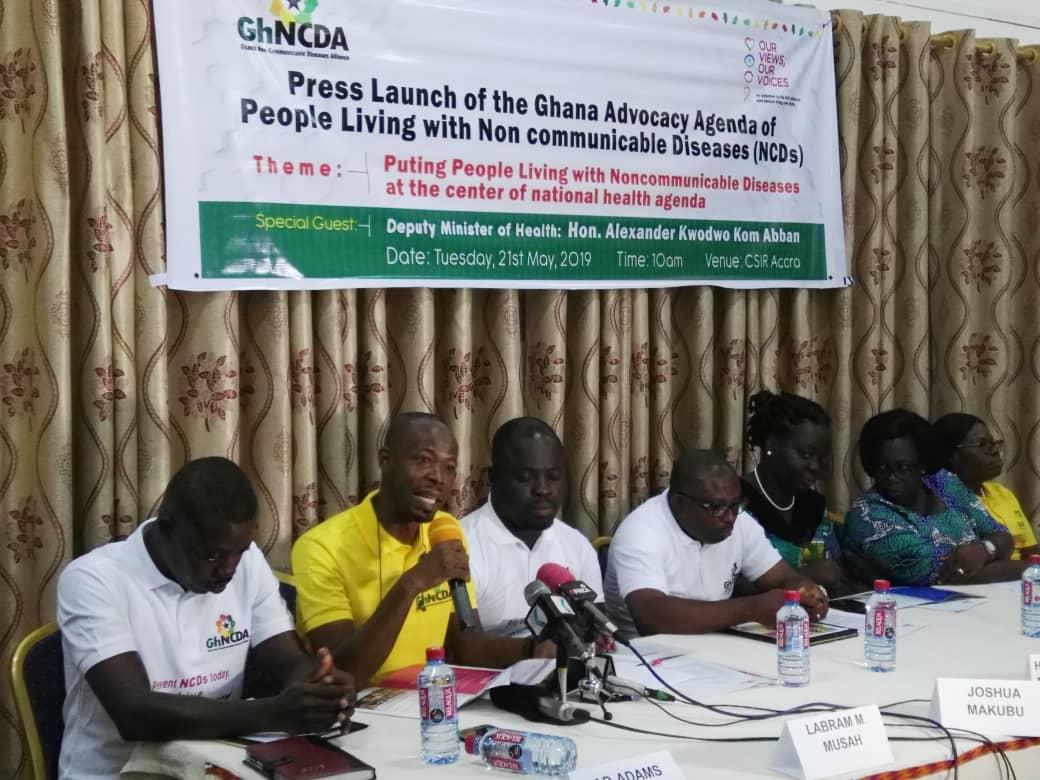 Ghana NCD Alliance: Non Communicable Diseases Claim 94,000