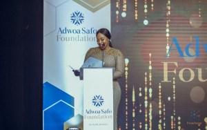 Ghana's first female deputy Majority Leader, Hon. Sarah Adwoa Safo