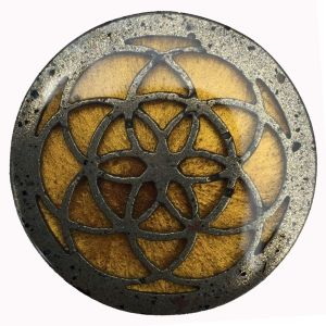 Cell Phone Orgonite Button for EMF/EMR Protection