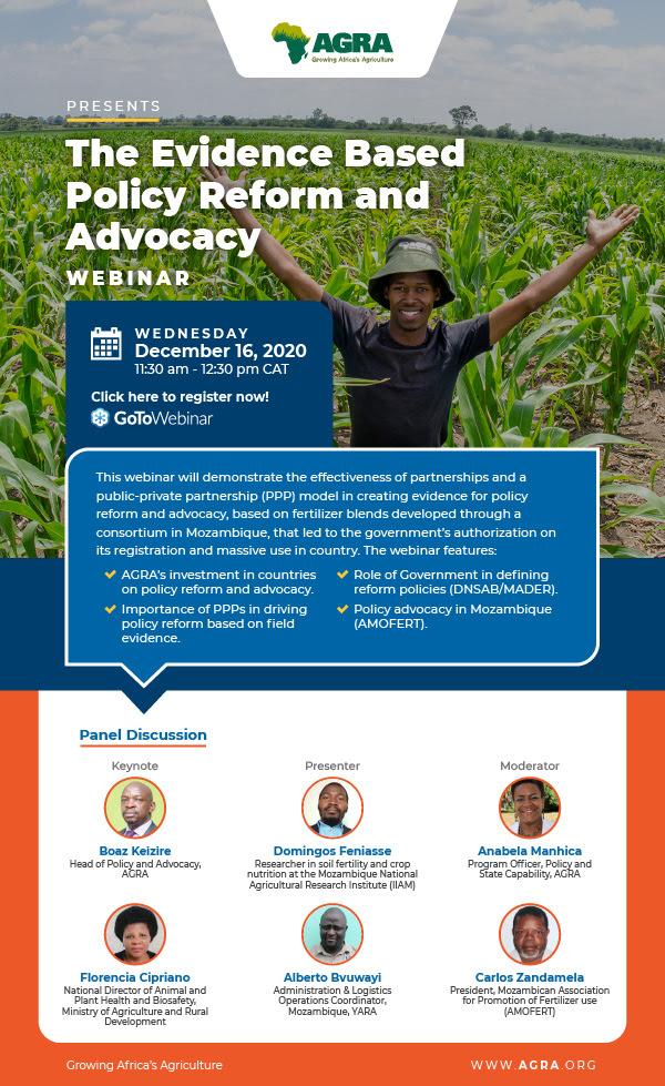 Evidence-Based Policy Reform & Advocacy Webinar