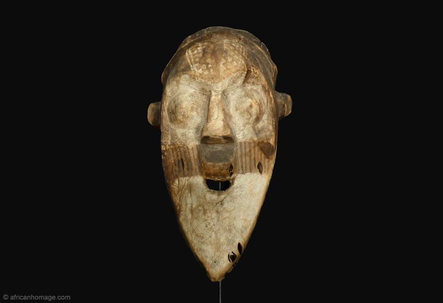 Kuba Chameleon Mask, collection, African Homage