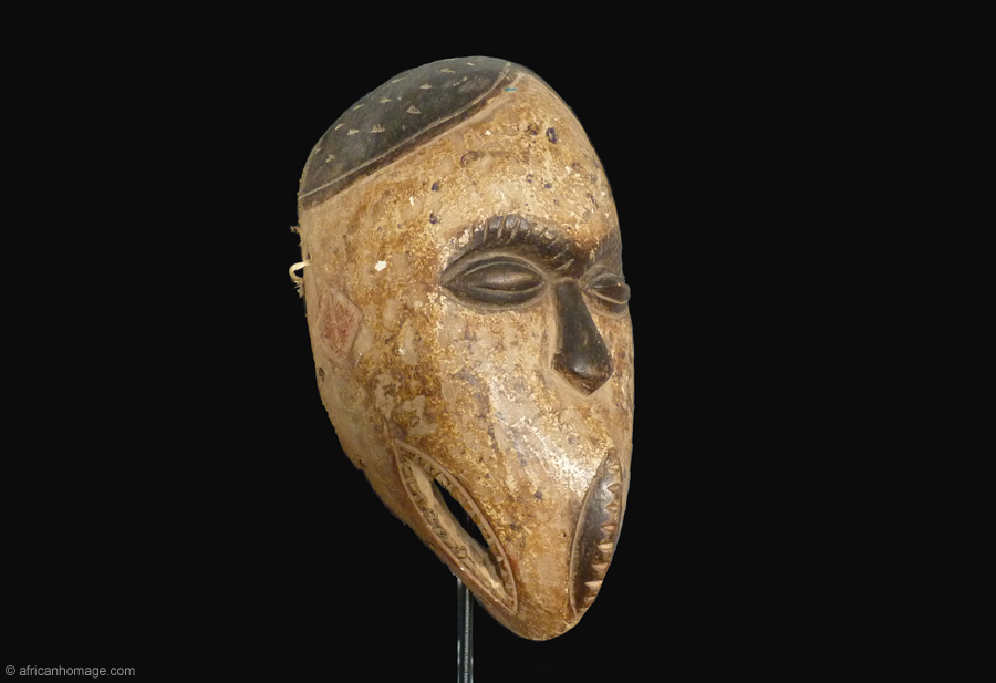 African Art, Grebo Mask, collection, African Homage