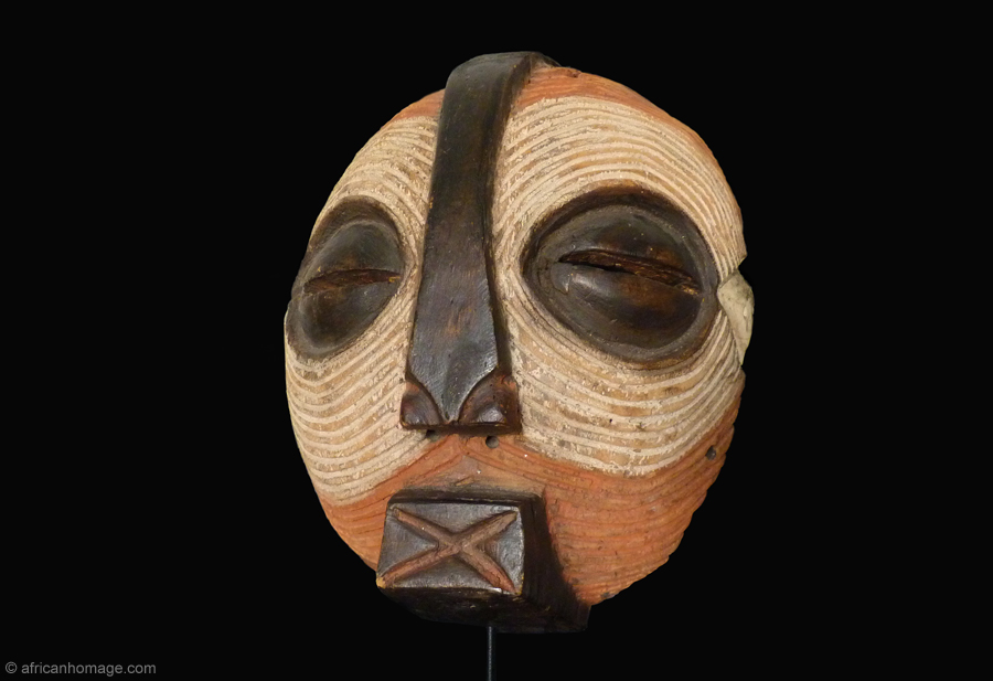 luba Mask, African Homage, collection
