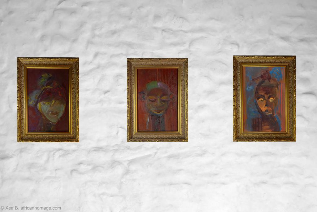 African Symbolic Portraits