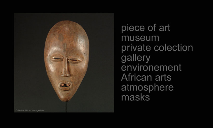 Lele Mask collection African Homage