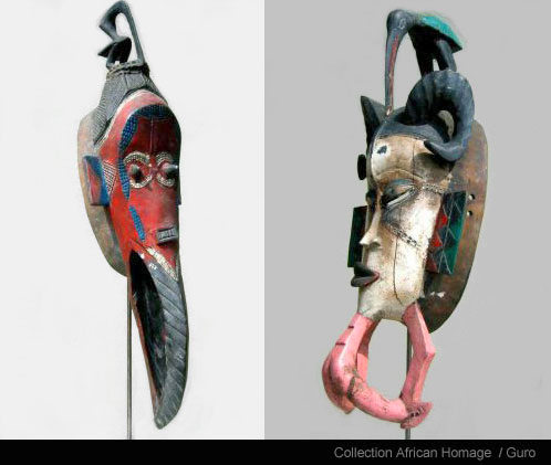Guro Mask Collection African Homage