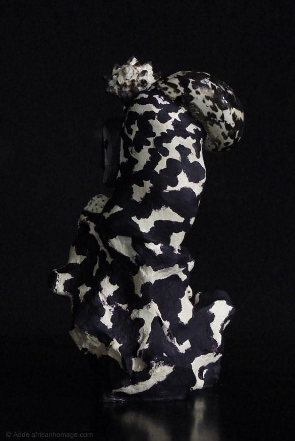 African Homage Sculpture