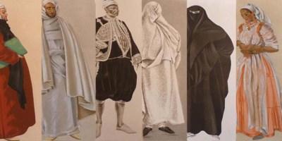 Costumes du Maroc Besancenot