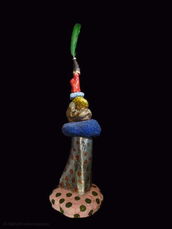 14 - Gooble Gobble, sculpture, Addé