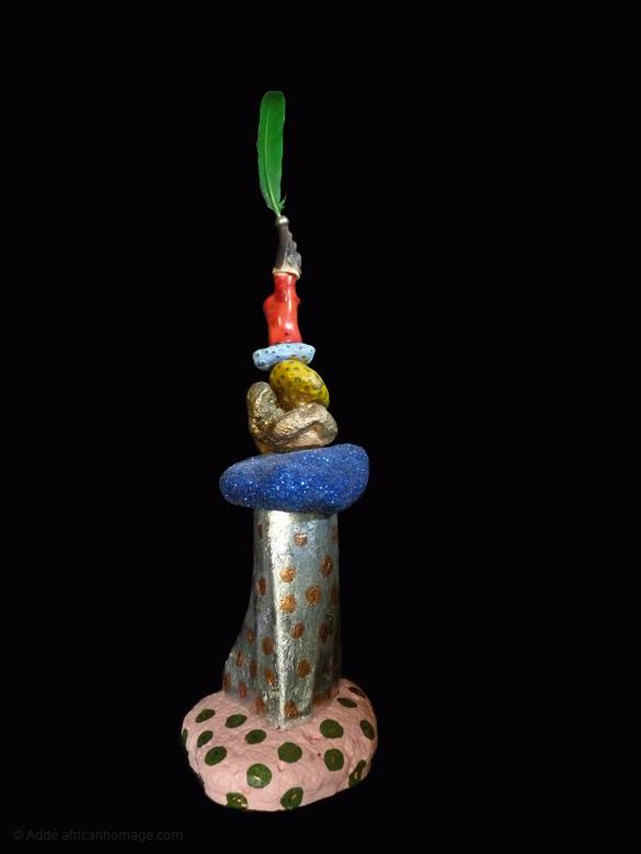 15 - Gooble Gobble, sculpture, Addé