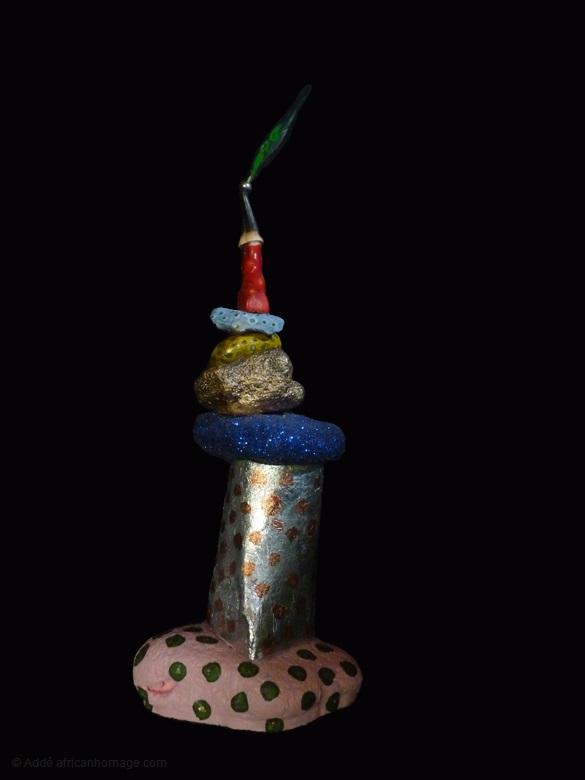 8 - Gooble Gobble, sculpture, Addé